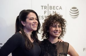 "NEW YORK, NY - APRIL 17: Actors Abbi Jacobson and Ilana Glazer attend ""Broad City"" Screening during the 2016 Tribeca Film Festival at Festival Hub on April 17, 2016 in New York City. (Photo by Roy Rochlin/FilmMagic)"