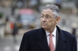 Former New York Assembly Speaker Sheldon Silver arrives at the courthouse in New York, Tuesday, Nov. 24, 2015. A jury heard Silver's corruption case boiled down to two conflicting portrayals of the once-powerful Democrat: one as a greedy lawmaker who enriched himself with bribery and another as a seasoned politician who played by the rules regarding outside income. (AP Photo/Seth Wenig)