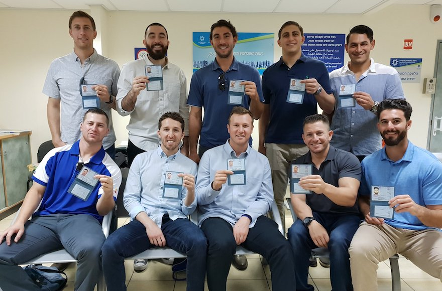 10 American baseball players become Israeli citizens to help nation's team make the Olympics