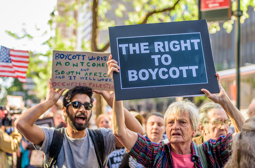 101 Jewish and pro-Israel groups ask universities to oppose Israel boycotts