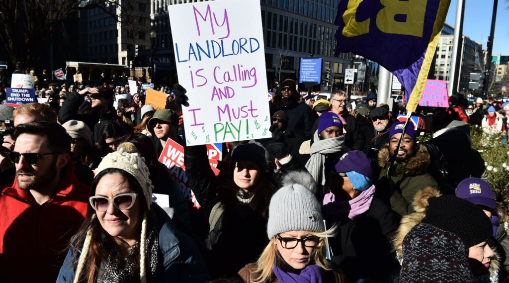 A Jewish worker affected by the shutdown wonders: How will I pay my bills?