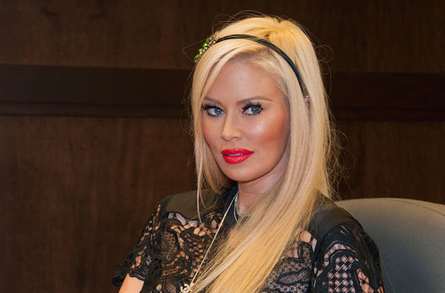 Jenna Jameson couldn't take the anti-Semitism on Twitter. So she left.