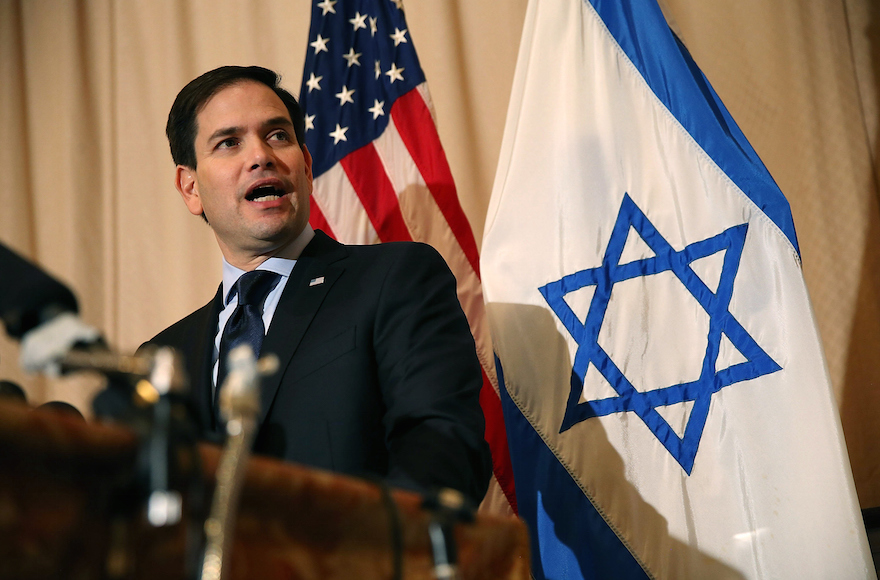 Marco Rubio says Democrats back Israel boycott and Chris Murphy calls his bluff