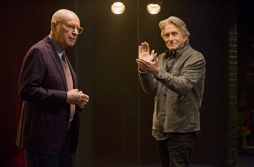 Michael Douglas and Alan Arkin mine aging for laughs in Chuck Lorre's latest, 'The Kominsky Method'