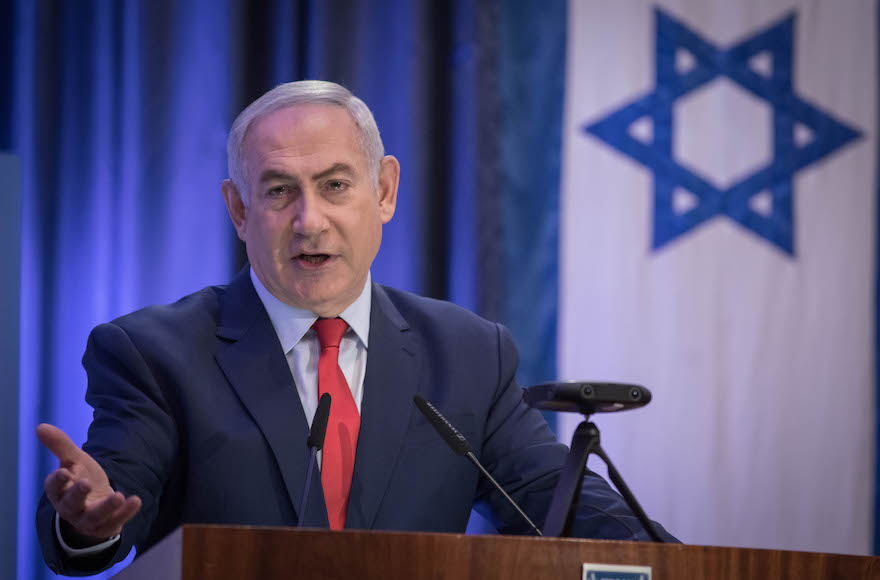 Netanyahu calls for chance to debate his accusers on live TV