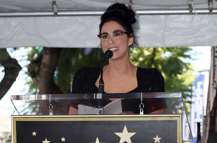 Sarah Silverman: I'm lucky I don't have to sew a Jewish star on my clothes