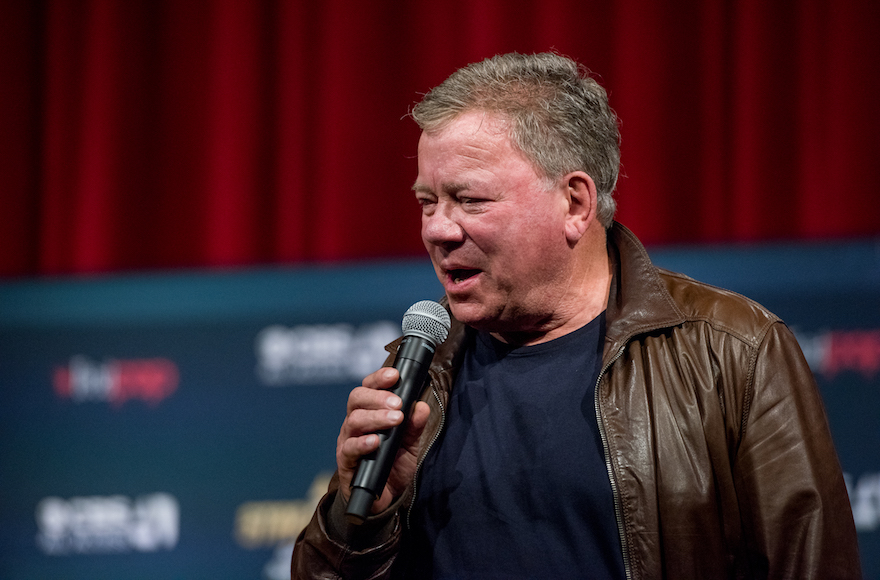 William Shatner didn't include a Hanukkah song on his new Christmas album